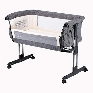 Mika Micky Portable Crib & best bassinet for breastfeeding