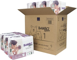 10. Bambo Nature Eco Friendly Premium Baby Diapers for Sensitive Skin
