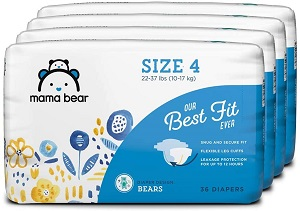 3. Mama Bear Best Fit Diapers