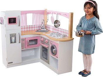 4. KidKraft Grand Gourmet Corner Kitchen 1