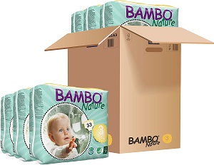 5. Bambo Nature Eco Friendly Baby Diapers