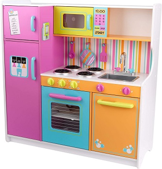 5. KidKraft Deluxe Big Bright Kitchen