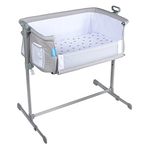 6. Milliard Side Sleeper Bedside Bassinet 2