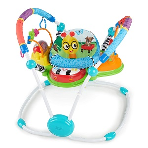 7. Baby Einstein Neighborhood Friends Activity Jumper with Lights and Melodies 1