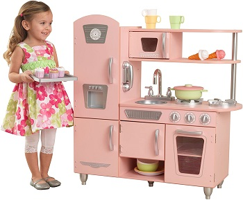 7. Kidkraft Vintage Kitchen in Pink