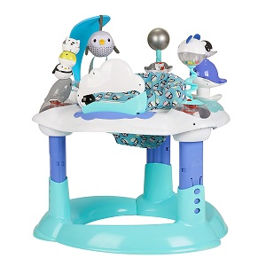 8. Evenflo Exersaucer Bounce and Learn Polar Playground 1