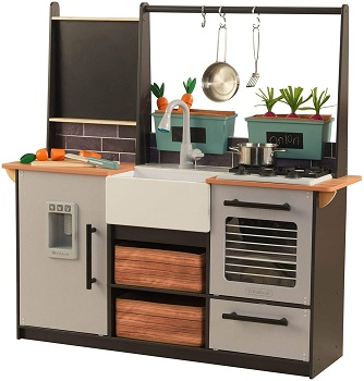 8. KidKraft Farm to Table Play Kitchen Set