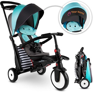 9. smarTrike STR5 Folding Toddler Tricycle