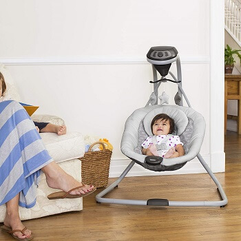 5. Graco Simple Sway Baby Swing