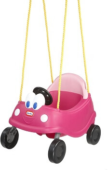 8. Little Tikes Princess Cozy Coupe First Swing