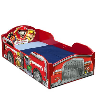 3. Delta Children Wood Toddler Bed Nick Jr. PAW Patrol 1