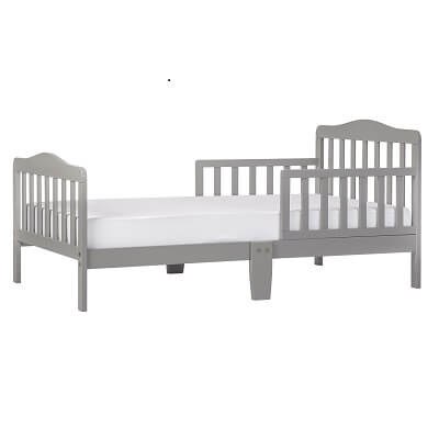 4. Dream On Me Classic Design Toddler Bed Cool Grey 2