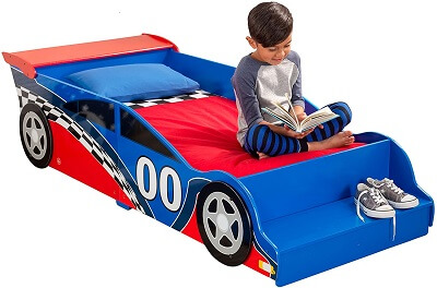 7. Race Car Toddler Bed 2