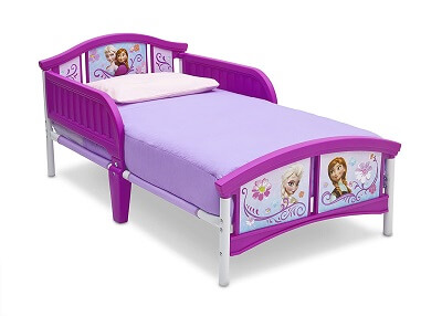 9. Delta Children Plastic Toddler Bed Disney Frozen 1