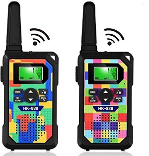 10.Walkie Talkie for Kids3 KM Long Range with 22 Channels 2 Way Radios LED Flashlight