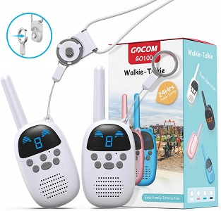 3.GOCOM Walkie Talkies for Kids Kids Toys Handheld Child Gift Walky Talky