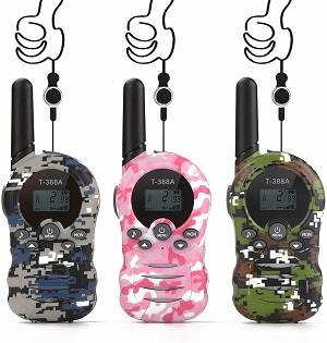 4.Walkie Talkies for KidsToys for 3 12 Year Boys Girls to Outside Adventure
