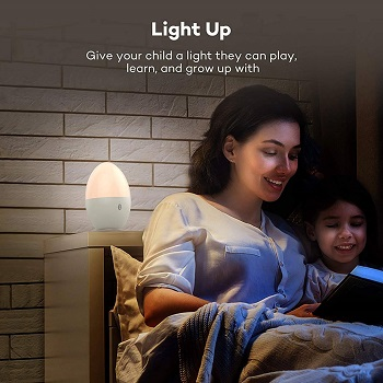 5.Night Light for Kids TaoTronics LED Nursery Lamp with Free Stickers 1