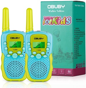 5.Obuby Walkie Talkies for Kids 22 Channels 2 Way Radio Kid Toy