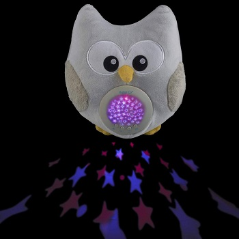 6.Baby Soother Toys Owl White Noise Sound Machine Toddler Sleep Aid Night Light 1