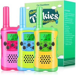 6.Walkie Talkies for Kids 22 Channel 2 Way Radio 3 Mile Long Range Kids Toys