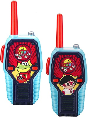 7.Ryans World Walkie Talkies for Kids 2 Way Radio Long Range 1