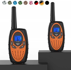 8.Topsung Two Way Radios for Adults M880 FRS Walkie Talkie Long Range with VOX Belt ClipHands Free Walki Talki