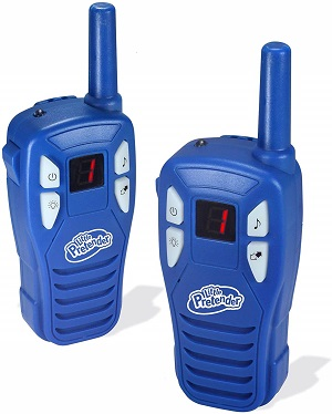 9.Little Pretender Walkie Talkies for Kids 2 Mile Range 3 Channels Built in Flash Light