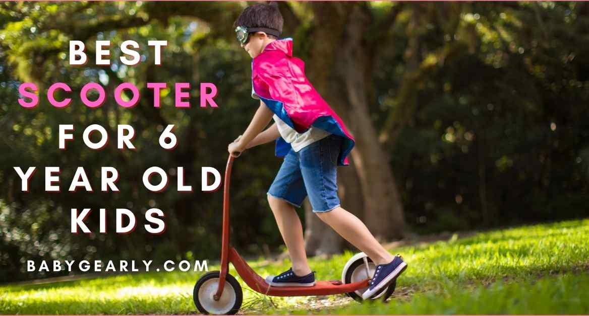 10 Best Scooter for 6-Year-Old Kids (2021 GUIDE & REVIEWS)