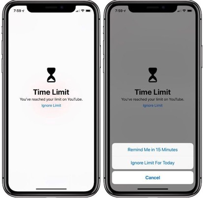 Why should you limit the time